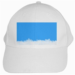 Blue Sky Clouds Day White Cap