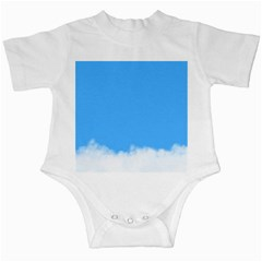 Blue Sky Clouds Day Infant Creepers