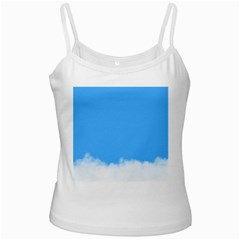 Blue Sky Clouds Day Ladies Camisoles