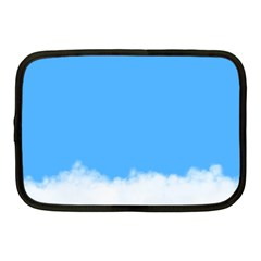 Blue Sky Clouds Day Netbook Case (medium)