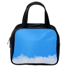 Blue Sky Clouds Day Classic Handbags (One Side)