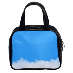 Blue Sky Clouds Day Classic Handbags (2 Sides)