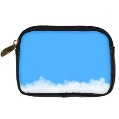 Blue Sky Clouds Day Digital Camera Cases