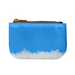 Blue Sky Clouds Day Mini Coin Purses