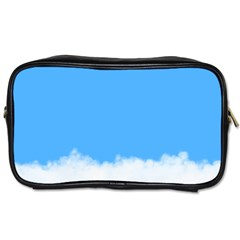 Blue Sky Clouds Day Toiletries Bags 2-Side