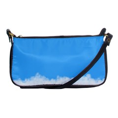 Blue Sky Clouds Day Shoulder Clutch Bags