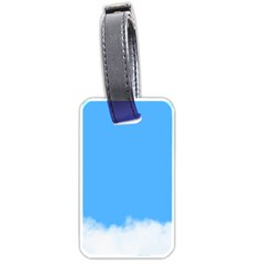Blue Sky Clouds Day Luggage Tags (two Sides)