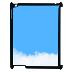 Blue Sky Clouds Day Apple iPad 2 Case (Black)