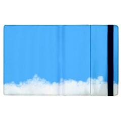 Blue Sky Clouds Day Apple iPad 2 Flip Case