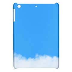 Blue Sky Clouds Day Apple iPad Mini Hardshell Case