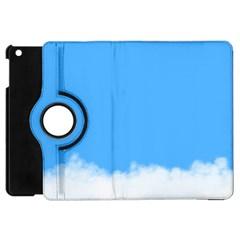 Blue Sky Clouds Day Apple iPad Mini Flip 360 Case