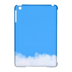 Blue Sky Clouds Day Apple iPad Mini Hardshell Case (Compatible with Smart Cover)