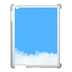 Blue Sky Clouds Day Apple iPad 3/4 Case (White)