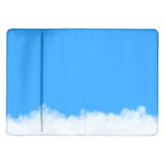 Blue Sky Clouds Day Samsung Galaxy Tab 10.1  P7500 Flip Case
