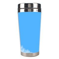 Blue Sky Clouds Day Stainless Steel Travel Tumblers