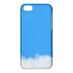 Blue Sky Clouds Day Apple iPhone 5C Hardshell Case