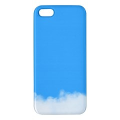 Blue Sky Clouds Day iPhone 5S/ SE Premium Hardshell Case