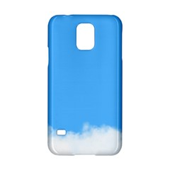 Blue Sky Clouds Day Samsung Galaxy S5 Hardshell Case