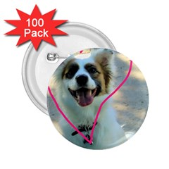 I Love You 2.25  Buttons (100 pack)