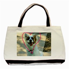 I Love You Basic Tote Bag (Two Sides)
