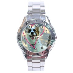 I Love You Stainless Steel Analogue Watch