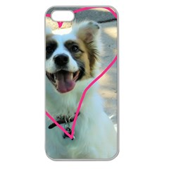 I Love You Apple Seamless Iphone 5 Case (clear)
