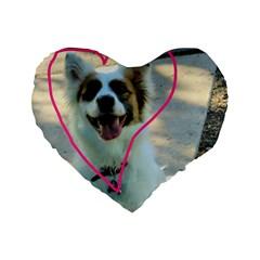 I Love You Standard 16  Premium Heart Shape Cushions