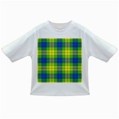 Spring Plaid Yellow Infant/toddler T Shirts