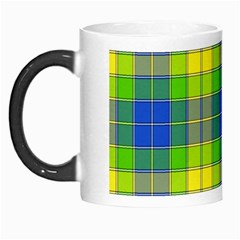 Spring Plaid Yellow Morph Mugs
