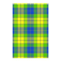 Spring Plaid Yellow Shower Curtain 48  X 72  (small)