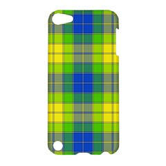 Spring Plaid Yellow Apple Ipod Touch 5 Hardshell Case