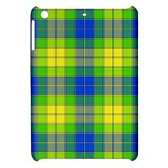 Spring Plaid Yellow Apple Ipad Mini Hardshell Case