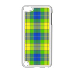 Spring Plaid Yellow Apple Ipod Touch 5 Case (white)