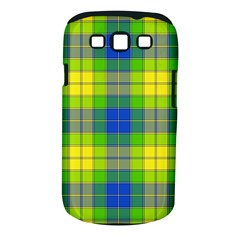 Spring Plaid Yellow Samsung Galaxy S III Classic Hardshell Case (PC+Silicone)