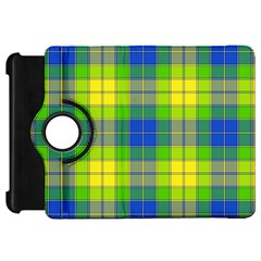 Spring Plaid Yellow Kindle Fire HD 7