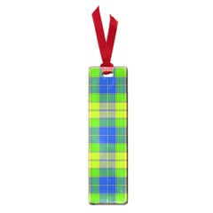 Spring Plaid Yellow Small Book Marks