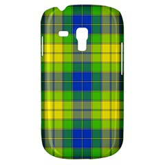Spring Plaid Yellow Galaxy S3 Mini