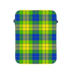 Spring Plaid Yellow Apple iPad 2/3/4 Protective Soft Cases