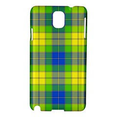 Spring Plaid Yellow Samsung Galaxy Note 3 N9005 Hardshell Case