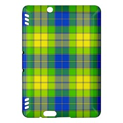 Spring Plaid Yellow Kindle Fire HDX Hardshell Case