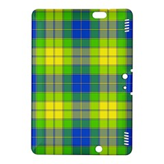 Spring Plaid Yellow Kindle Fire HDX 8.9  Hardshell Case