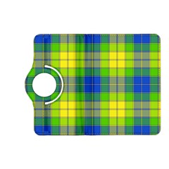 Spring Plaid Yellow Kindle Fire HD (2013) Flip 360 Case