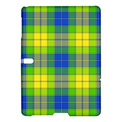 Spring Plaid Yellow Samsung Galaxy Tab S (10.5 ) Hardshell Case