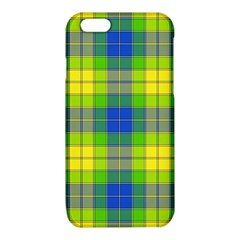 Spring Plaid Yellow iPhone 6/6S TPU Case