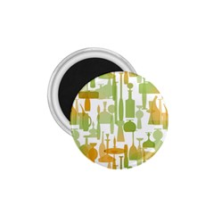 Angerine Blenko Glass 1.75  Magnets