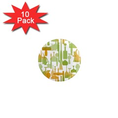 Angerine Blenko Glass 1  Mini Magnet (10 pack)