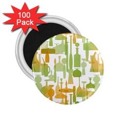 Angerine Blenko Glass 2.25  Magnets (100 pack)