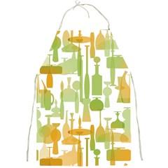 Angerine Blenko Glass Full Print Aprons