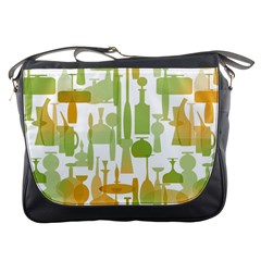 Angerine Blenko Glass Messenger Bags