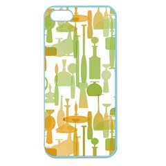 Angerine Blenko Glass Apple Seamless Iphone 5 Case (color)